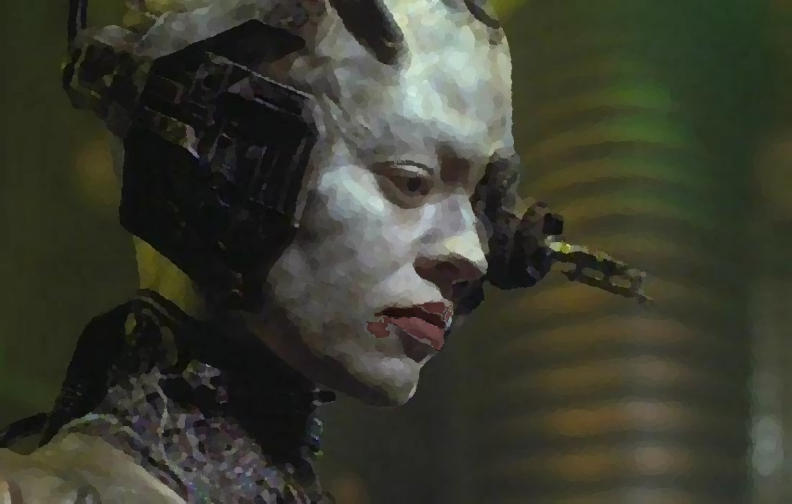 Annika Hansen as Seven of Nine